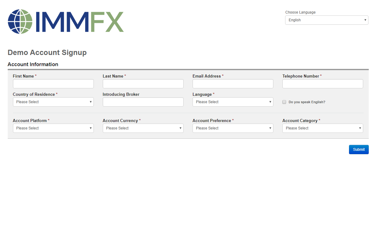 Beginning with a Forex Demo Account | IMMFX