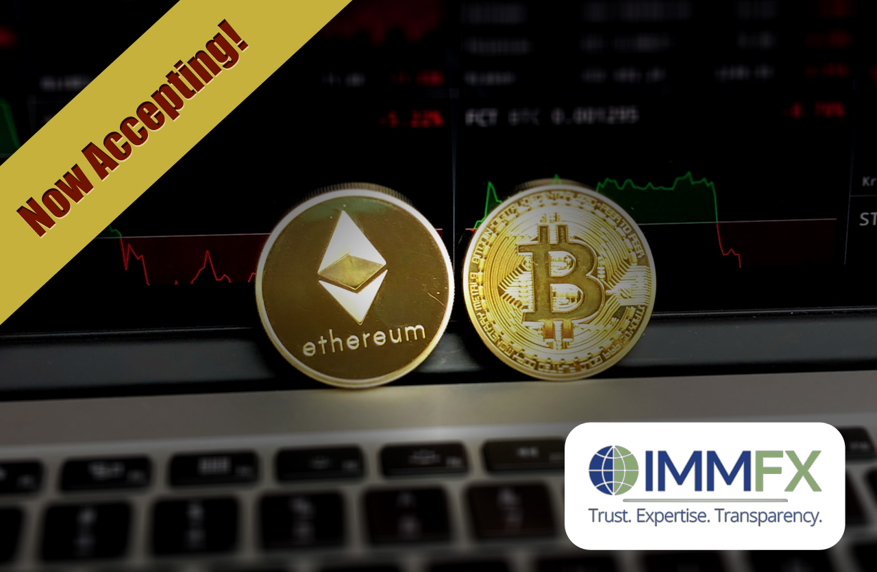 Bitcoin and Ethereum now accepted in IMMFX deposit and withdrawal